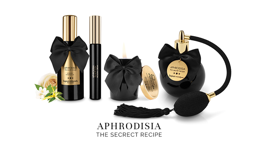 APHRODISIA, desprende erotismo